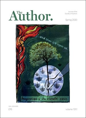 New look for SoA's journal The Author, now printed on 100% recycled paper