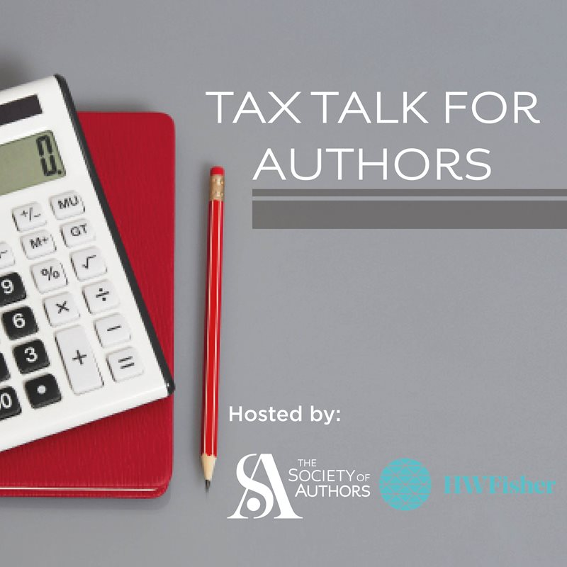 Tax Talk for Authors from HW Fisher 2019